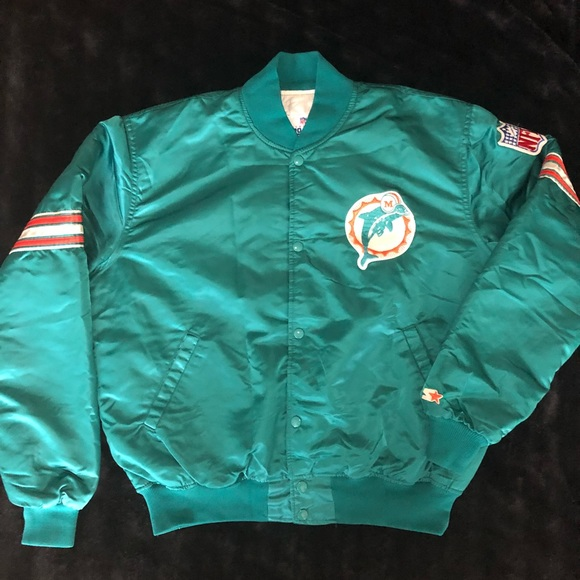 best website a92c1 bb214 Vintage NFL Miami dolphins starter jacket